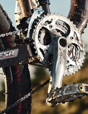 The Pitch is versatile enough to run a triple or dual crankset