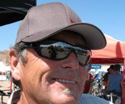 Brent Thomson suffered a heart attack while riding the trails he has cut into the mountains surrounding Boulder City, Nevada
