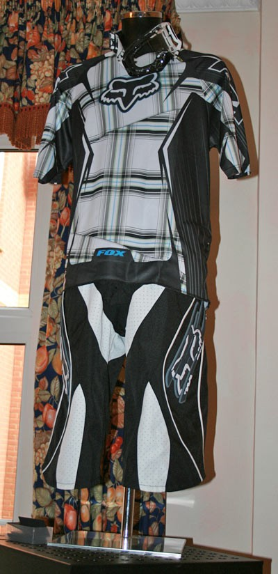 Racing outfit from Fox