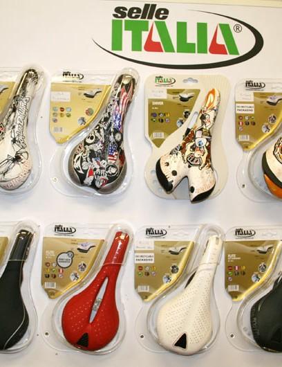 Selle Italia's range of saddles