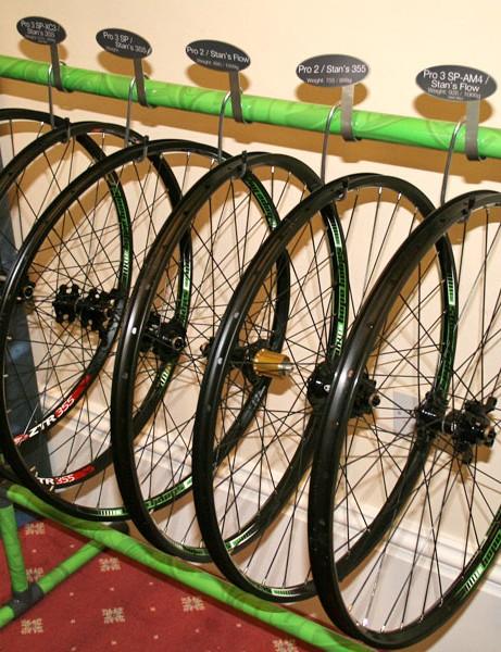 Hope's new mountain bike wheelsets