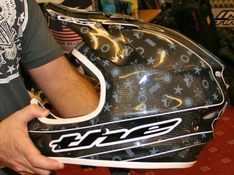 THE limited edition full face helmet
