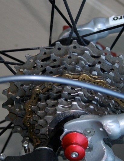 A 12-25T cassette offers a gear for pretty much any situation in cyclo-cross