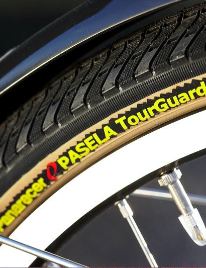 Rigida rims and Panaracer tyres are a top combination for 26in wheeled touring.