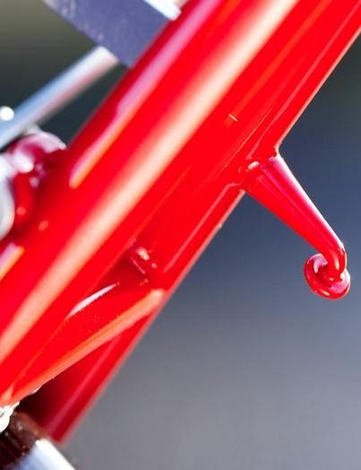 British designed chromoly frame, handmade in Taiwan to a high standard.