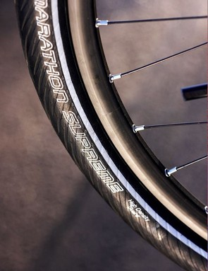 Like the rest of the bike the wheels are: tough, strong and uncompromising for rigorous loaded touring.