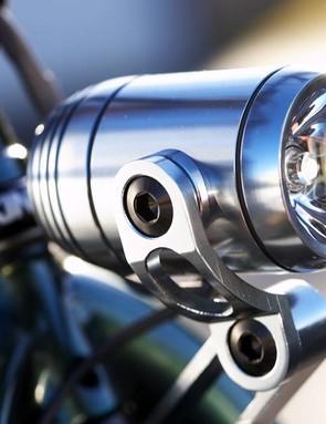 Dynamo powered sleek front light