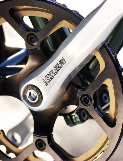 Middleburn, forged and machined arms are pure quality