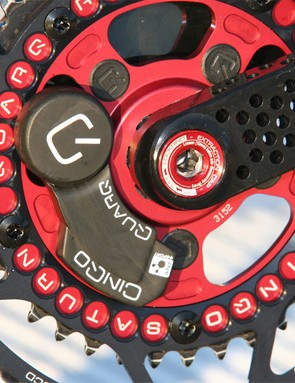 Sastre and the rest of the Cervélo TestTeam will use Quarq CinQo Saturn power meters for both training and racing