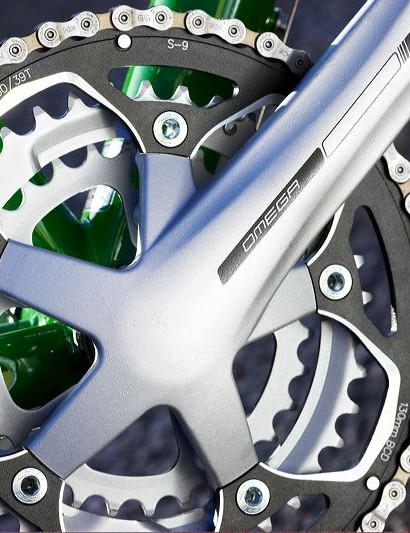 FSA Omega forged alloy triple chainset