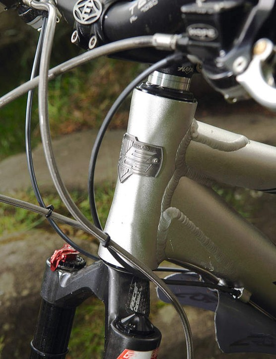 A reinforced head tube will take the harder knocks