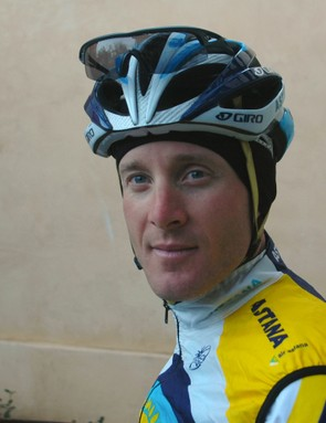 Levi Leipheimer led his Astana teammates on long road rides in Sonoma County, California this week.