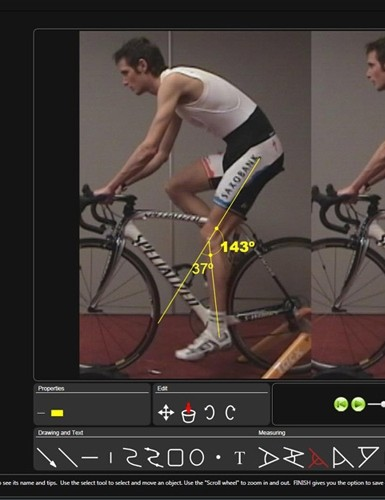 Schleck's saddle was raised slightly, with more to follow when he becomes more flexibile. His stem was also shortened, helping his upper body to relax