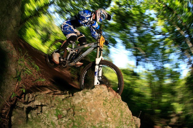 Andrew Neethling was untouchable on his second run, securing his second consecutive victory in the MTN National Cup Series