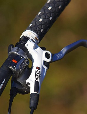 Avid's Elixir brakes are powerful and very well modulated