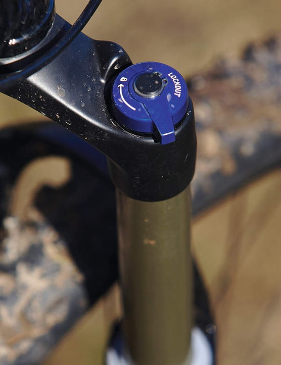 We really value the lockout option, mainly because we like to set up long travel forks fairly soft, which is fine for sitting down and powering, but not so great for climbing with your weight over the front of the bike.