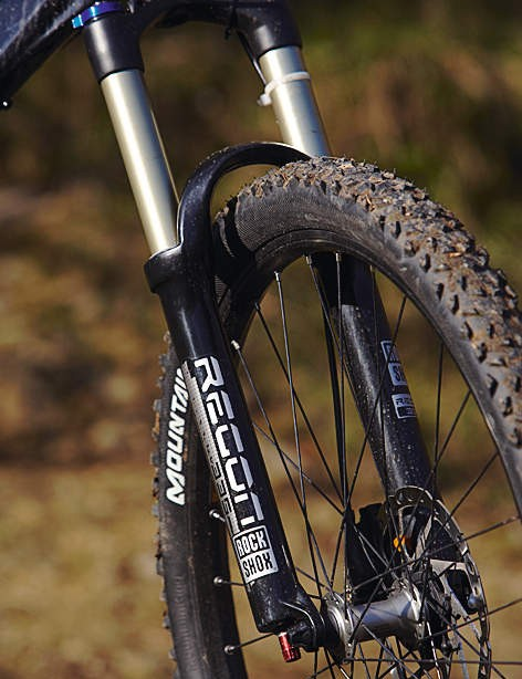 The lockout option on the fork is very welcome on standing climbs