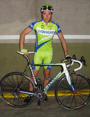 Ivan Basso hopes his new bike will help him as he makes his comeback after a two-year suspension.