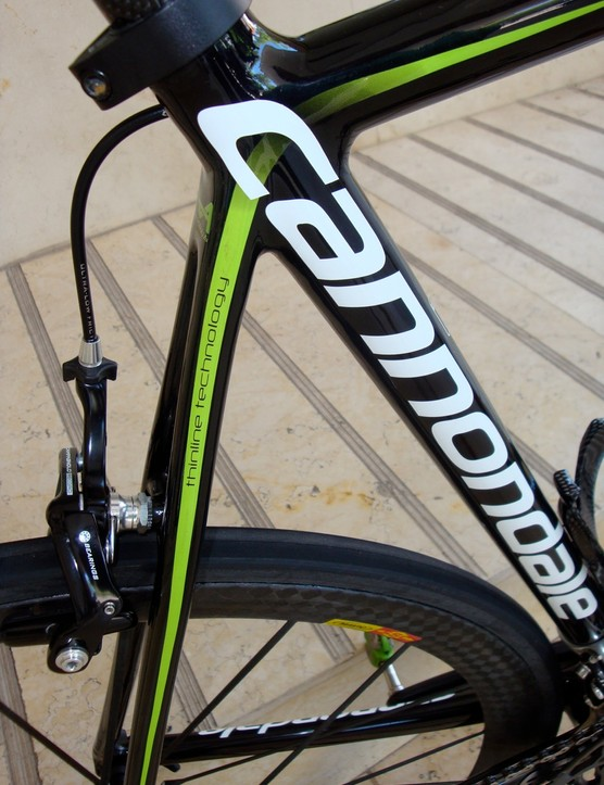 The step at the top and bottom of the seat tube are also now gone.