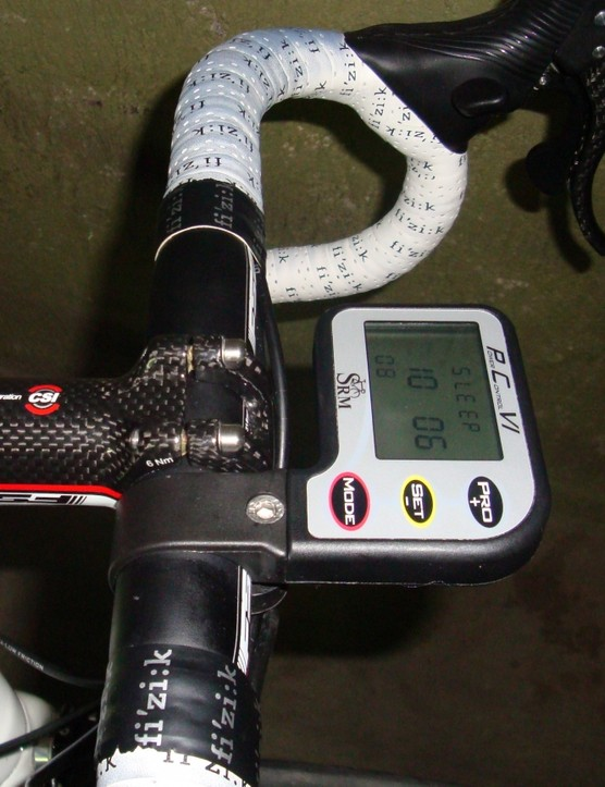 The new wireless PowerControl VI displays all of Basso's critical performance metrics.