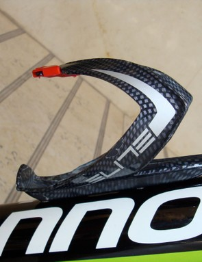 Elite carbon water bottle cages They were never with out a bottle in Argentina's 45 C heat