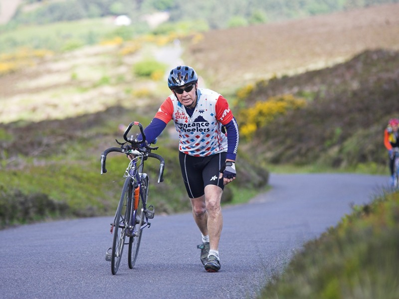 Rest and the right diet will help you on the climbs