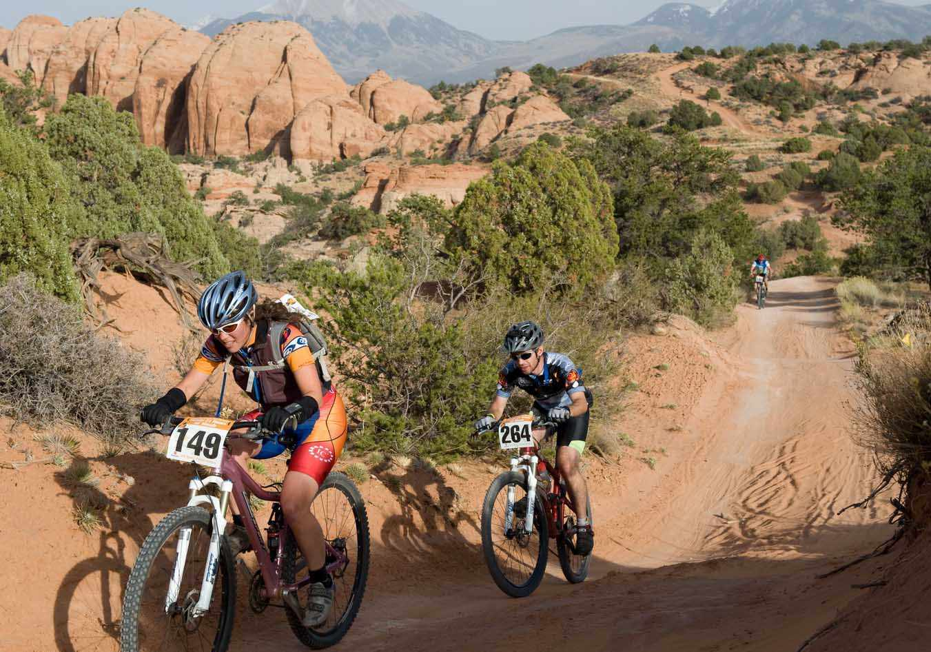 The 24-Hour mountain bike national championships will be held in Moab, Utah in October.