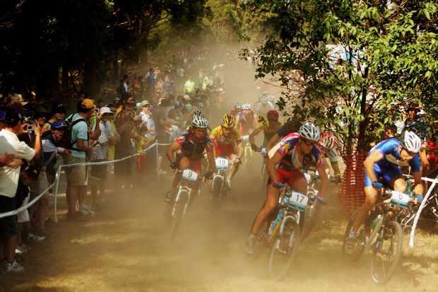 Australian mountain bike racing in happier times