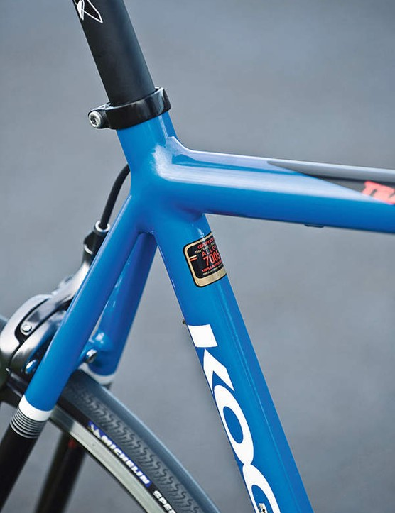 Superb finish and smooth welds mean the Koga is a cut above other aluminium frames