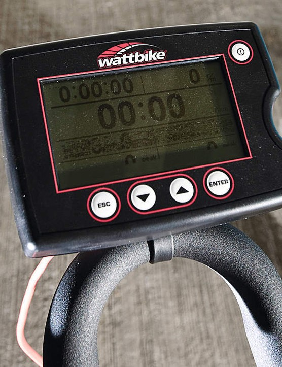 The Wattbike trainer tells you everything that you could ever want to know about your cycling,