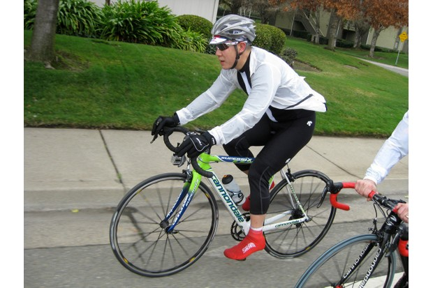 BikeRadar tech editor James Huang spun two hours on the 2009 Cannondale SuperSix Hi Mod, just like Basso and Co.