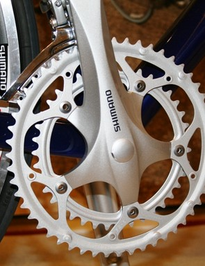 2300 will be available with a double or triple crankset