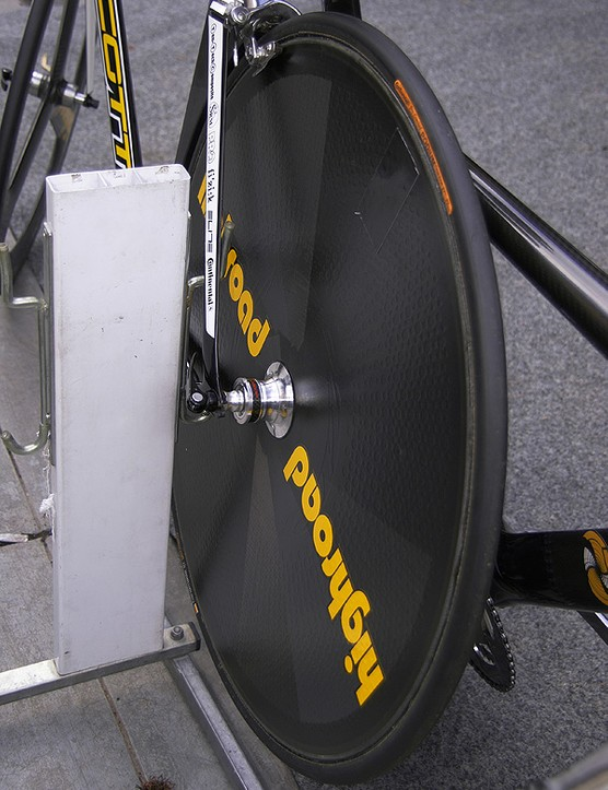 Currently the team already uses several wheel suppliers to ensure it always has the best tool for the job.