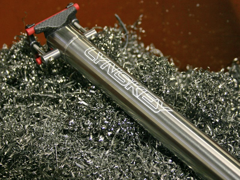 Lynskey release new titanium seatpost