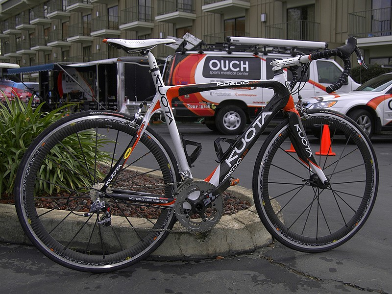 Floyd Landis is making return with the OUCH Pro Cycling Teamand the Kuota Kredo Ultra.