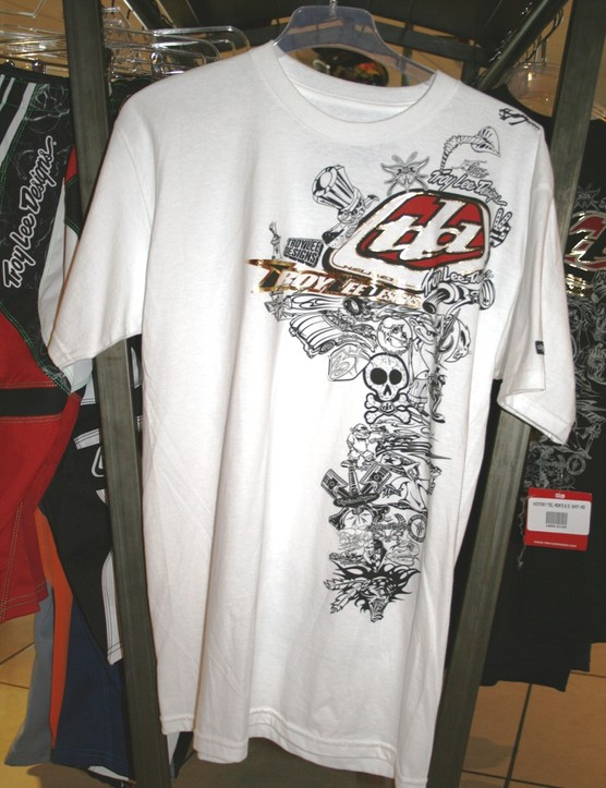 Troy Lee is expanding its casual clothing line with kit like this History Tee