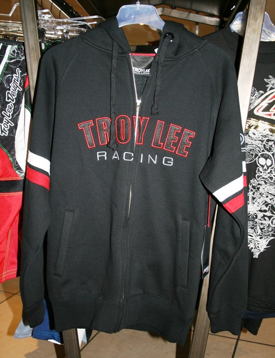 Troy Lee Factory zip-up fleece hoodie