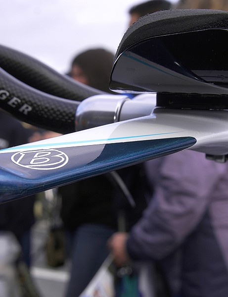 Bontrager may have sacrificed some aerodynamic drag in designing its bar but depending on what happens with the UCI, that extra drag will actually end up paying big dividends since the team will be able to run their usual equipment.