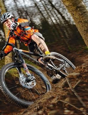 If you can overcome the 32.1lb weight, the KTM will reward with enthusiasm