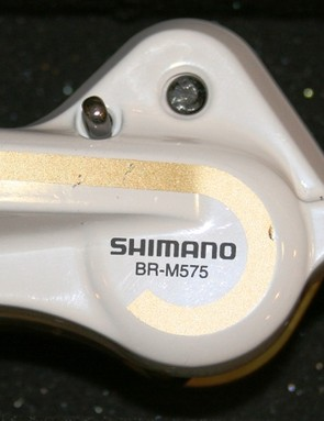 Shimano's non-series mountain bike parts are now available in white