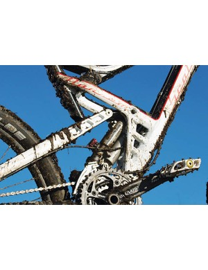 Unfortunately the super complex, multi adjustable Equalizer damper just doesn't gel at all with the under-damped and stiction-prone Marzocchi fork