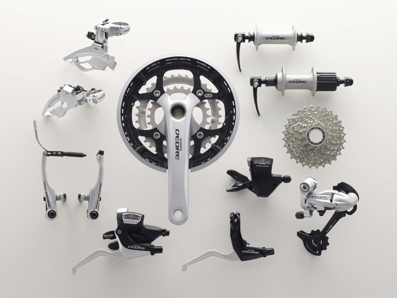 The new Deore touring groupset