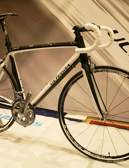 This bike is decked out with new Ultegra kit