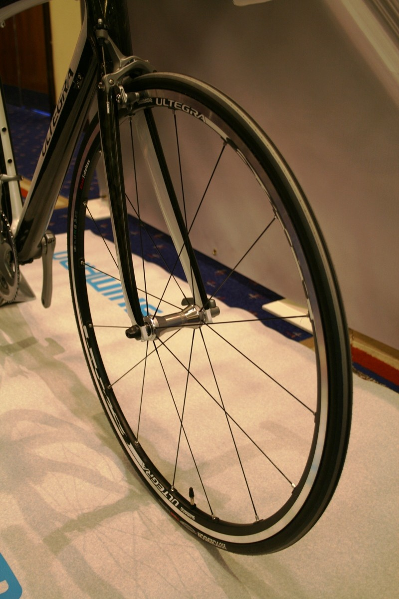 New Ultegra front wheel