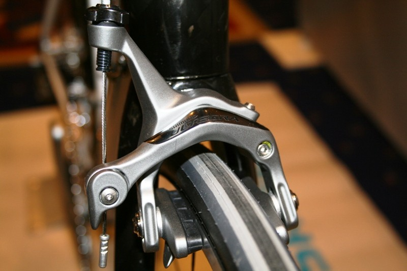 New Ultegra brake calliper