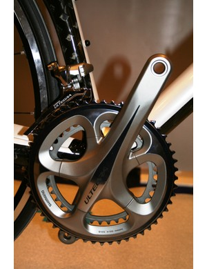 New Ultegra chainset