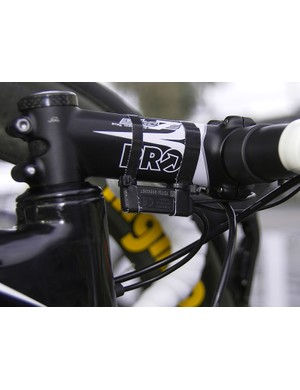 Mechanics are clearly still figuring out the best locationto mount some of Di2's associated little bits.