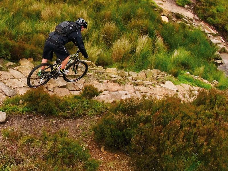 Mountain bike endurance race at Altura trail, Lake District