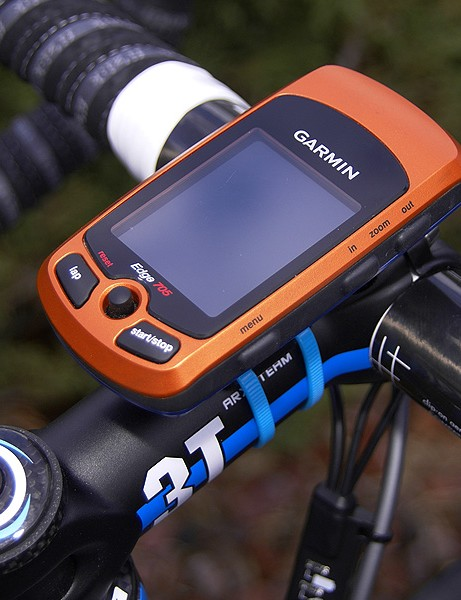 Garmin-Slipstream is one of several teams using the Edge 705 GPS-enabled computer to alert the riders to key upcoming terrain features.