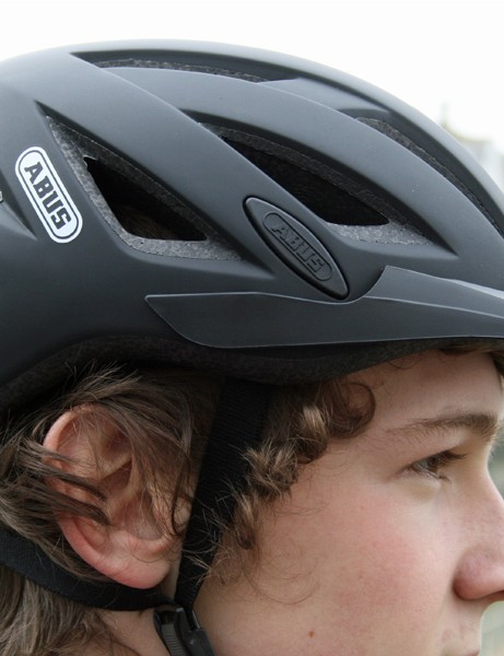Abus's Urban-I helmet has a built-in rear LED